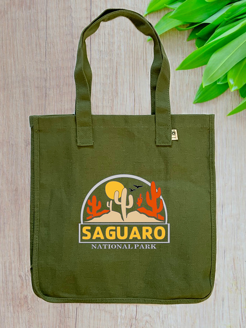 Saguaro National Park Hemp Tote