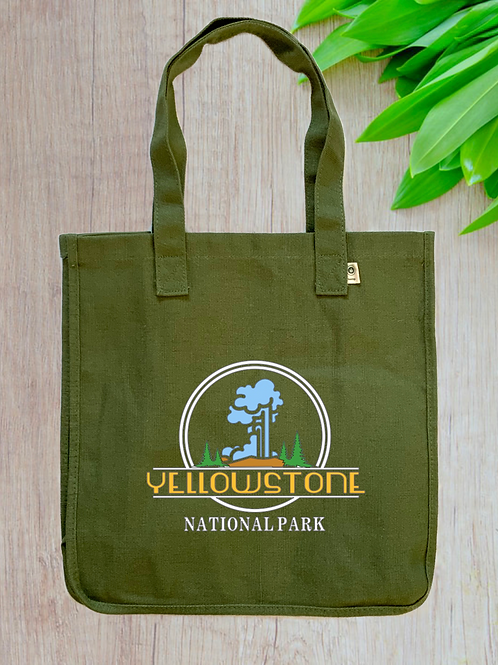 Yellowstone National Park eConscious Hemp Tote