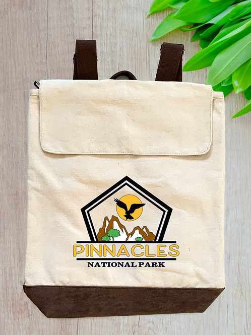 Pinnacles National Park Canvas Rucksack