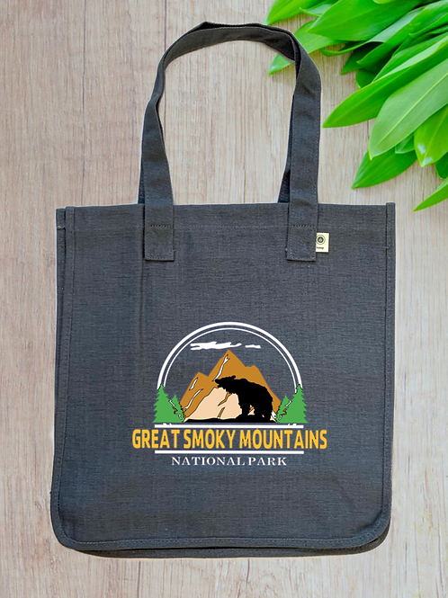 Great Smoky Mountains National Park Hemp Tote