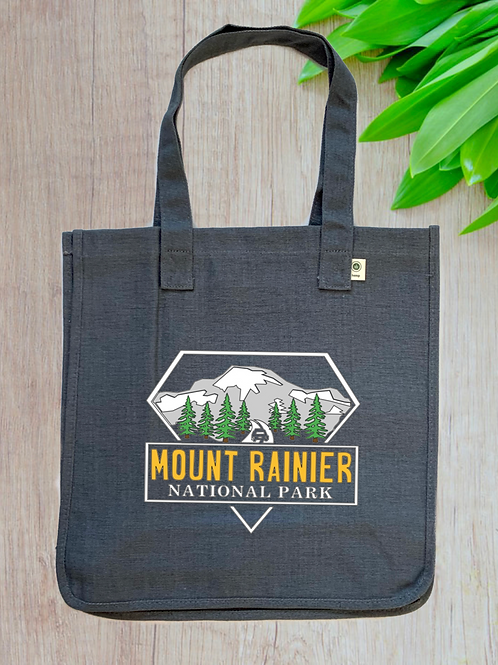 Mount Rainier National Park Hemp Tote
