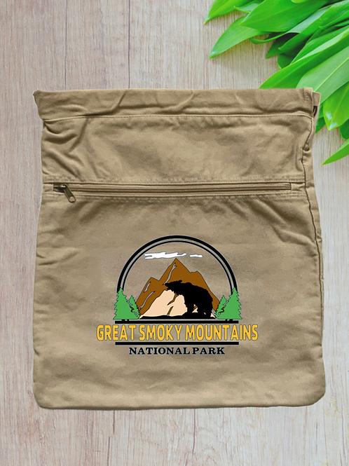Great Smoky Mountains National Park Cinch Bag