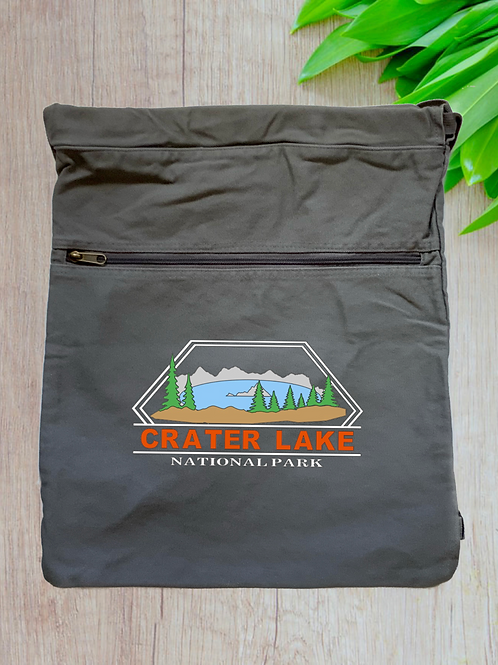 Crater Lake National Park Cinch Bag