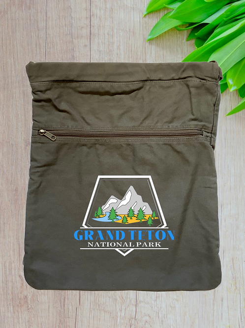 Grand Teton National Park Cinch Bag