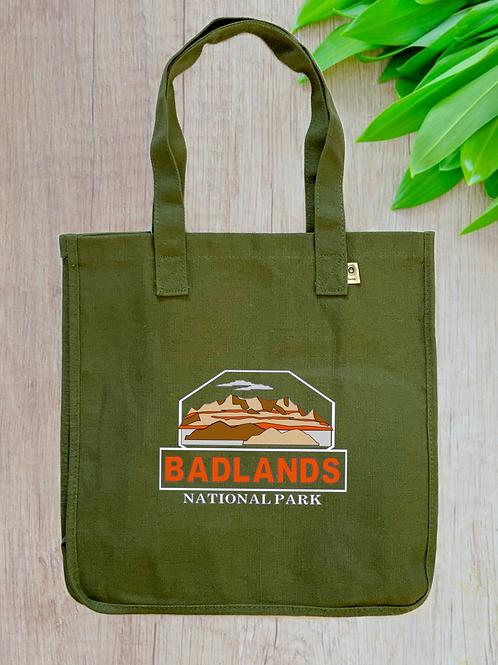 Badlands National Park Hemp Tote
