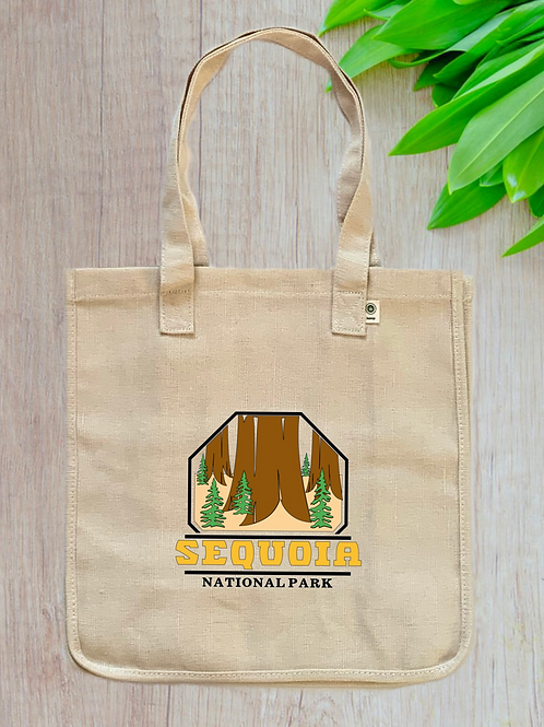 Sequoia National Park Hemp Tote