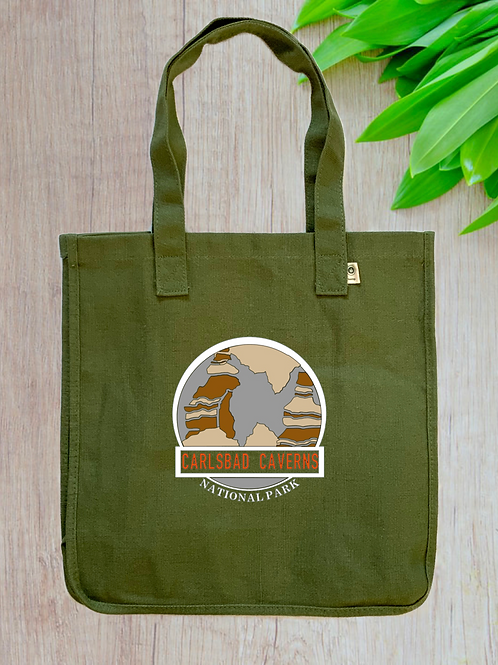 Carlsbad Caverns National Park Hemp Tote