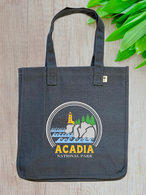 Acadia National Park Hemp Tote