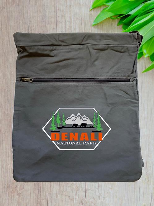Denali National Park Cinch Bag