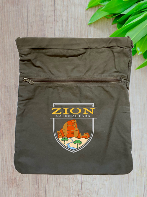 Zion National Park Cinch Bag