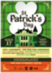 DOC St Patricks Day Poster 2019 A3 PRINT
