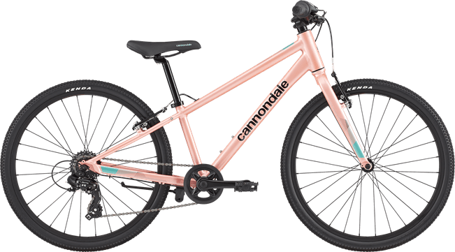 "Bicicleta Cannondale Quick 24"" Rosa palo"