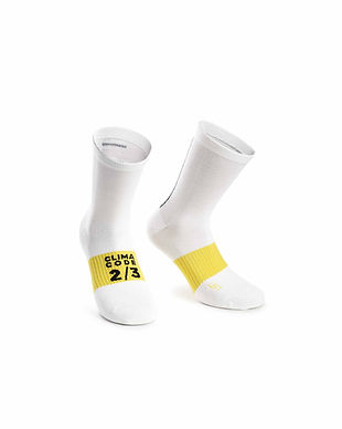 Calcetines Assosoires Spring Fall Holy white