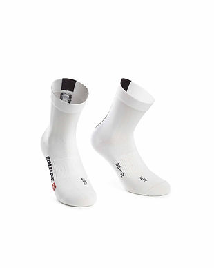 Calcetines Assosoires Équipe RS Holy White