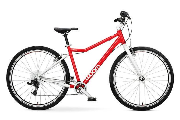 "Bicicleta Woom 6 26"" Roja"