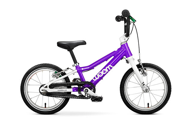 Bicicleta Woom  2 14¨ Morada