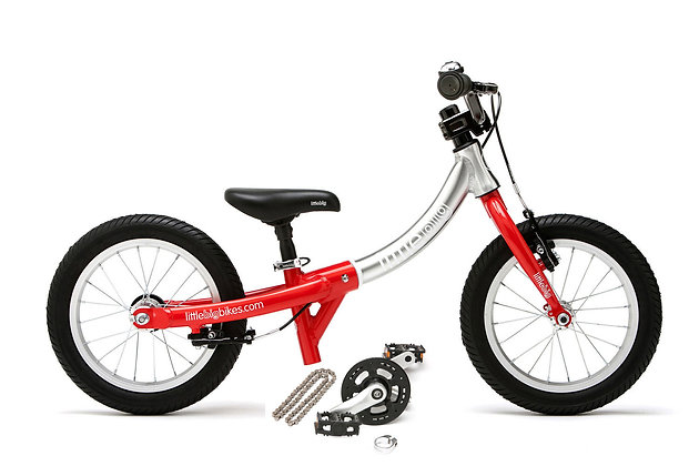 "Bicicletas evolutiva Little Big 14"" Roja"
