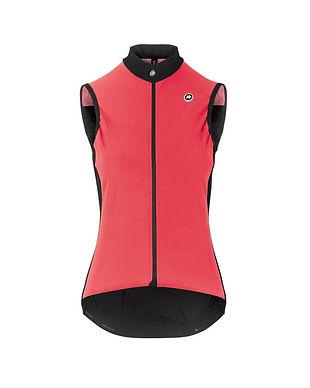 Chaleco Assos mujer Uma GT Spring Fall Airblock Vest Galaxy Pink