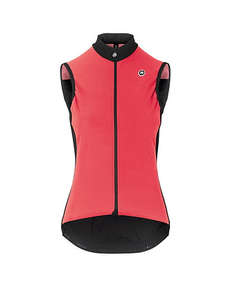 Chaleco Assos mujer Uma GT Spring Fall Airblock Vest Galaxy Pink
