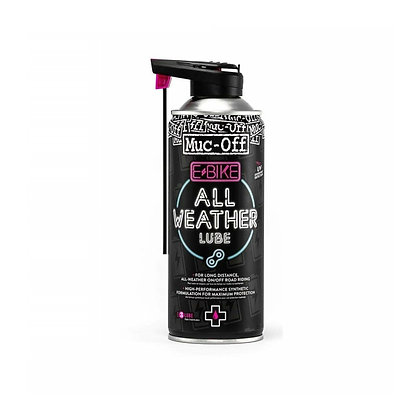 LUBRICANTE DE CADENA  MUC-OFF E-4 ESTACIONES - 400 ML (CADENAS E+BIKE)