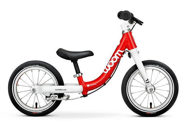 "Bicicleta Woom  1 12"" Roja"