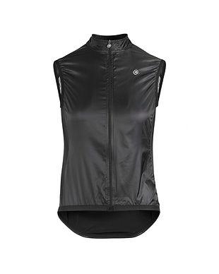 Chaleco Assos mujer Uma GT Wind Jacket Black Series