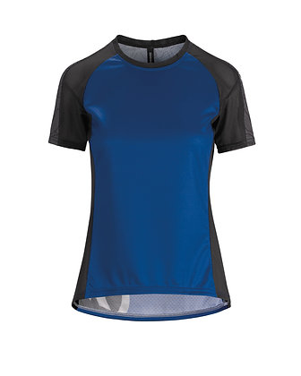 Maillot Asssos Mujer Trail SS Jersey Twilight blue