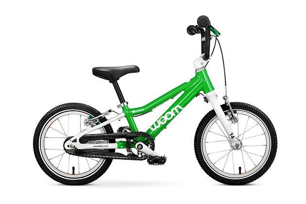 Bicicleta Woom 2 14¨ Verde