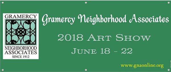 Gramercy Art Show Banner
