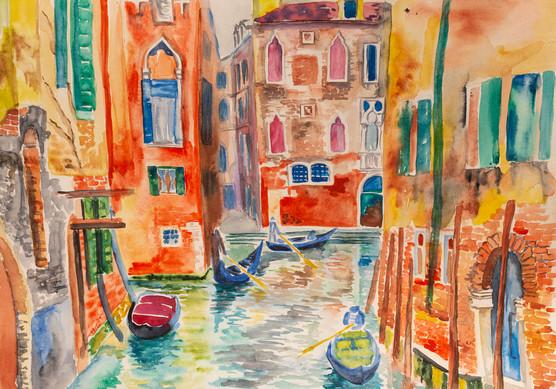 Brightness of Venice