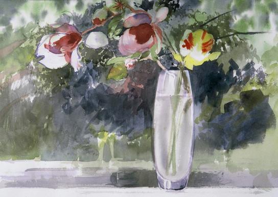 Magnolia in a Vase