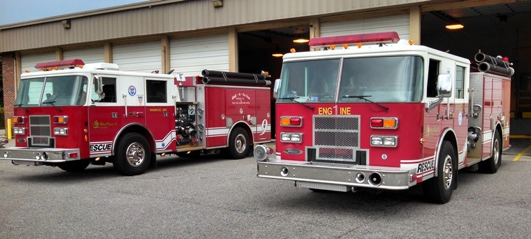 Mt Pleasant Fire 6 Engine509and510.jpg