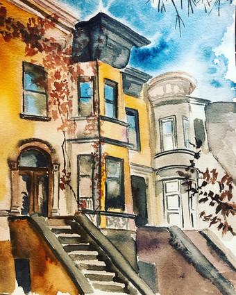 Blue Sky of Park Slope