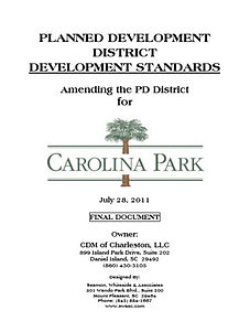 Carolina Park Developement Standards Doc