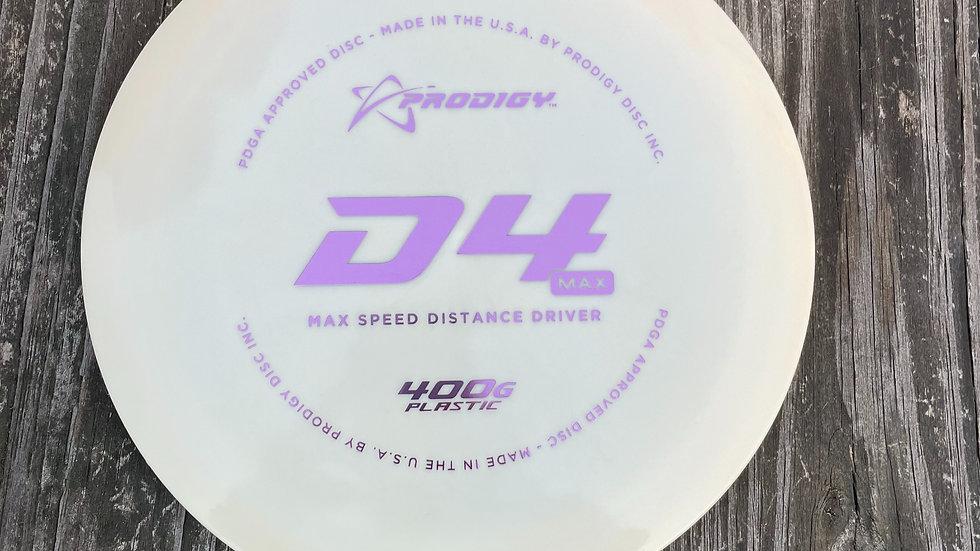D4 MAX 400G PLASTIC