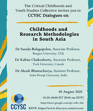 CCYSCDialogues#3_ChildhoodsResearchMetho