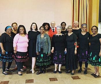 senior citizens dance class