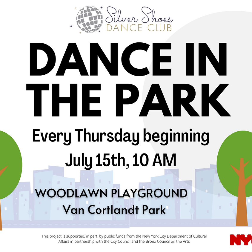 Dance in the Park- WOODLAWN at Woodlawn Playground