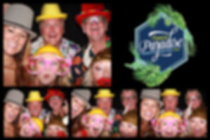 corporate photo booth rental print from a conference at Hyatt Lost Pines Resort