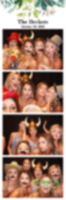 austin photo booth rental print from a wedding at The Allan House