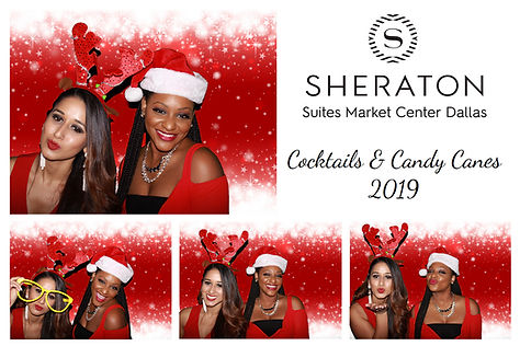 corporate photo booth rental print from Sheraton Suites Market Center Dallas