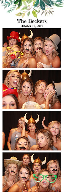 dallas photo booth rental print from a wedding in Dallas