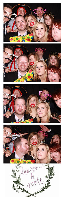 photo booth rental in dfw at a wedding