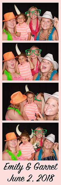 wedding photo booth rental print in Fort Worth