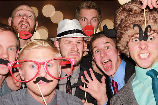 photo booth rental for a birthday party at the Bell County Expo Center