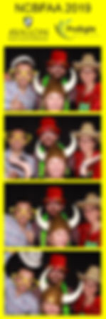 photo booth rental print from a conference in Dallas