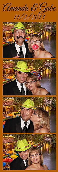 San Antonio wedding photo booth rental