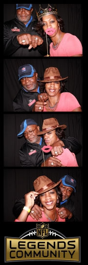 photo booth rental in houston at NRG stadium for the NFL