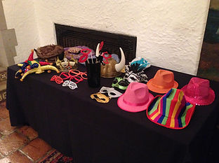 photo booth props for affordable photo booth rentals
