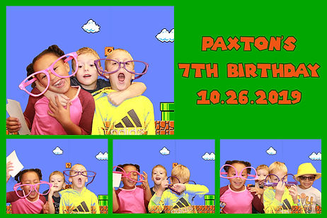 photo booth rental print in Dallas for a birthday party